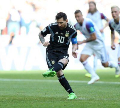Argentina empató con los Vikingos en su debut por el mundial.