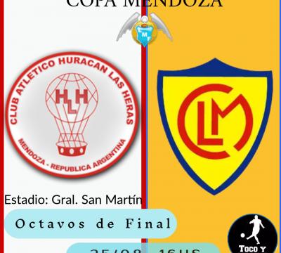 Huracán Las Heras Recibe al Canario por Copa Mendoza