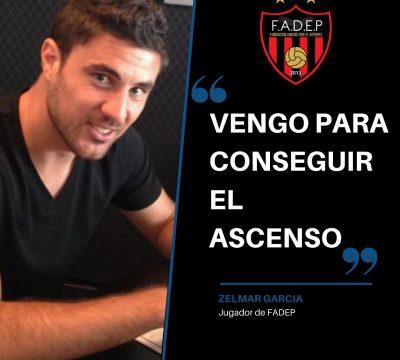 """Zelmar Garcia: """"Quiero conseguir el ascenso"""""""